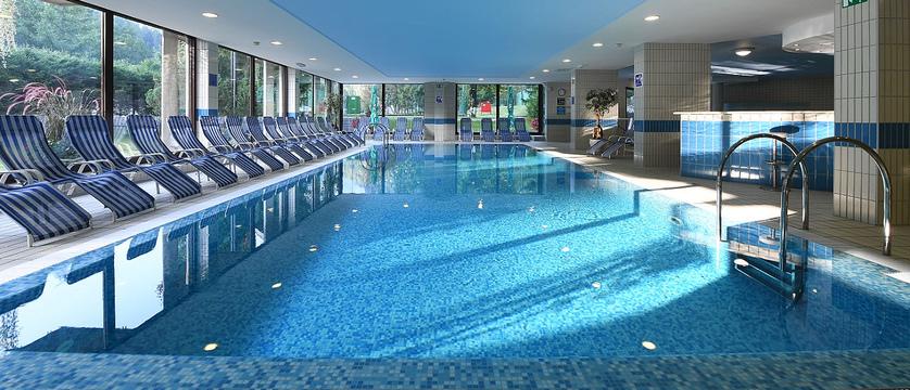 Indoor swimming pool.Best Western Kranjska Gora.JPG